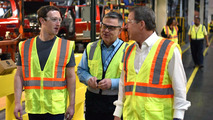Mark Zuckerberg Visits Ford