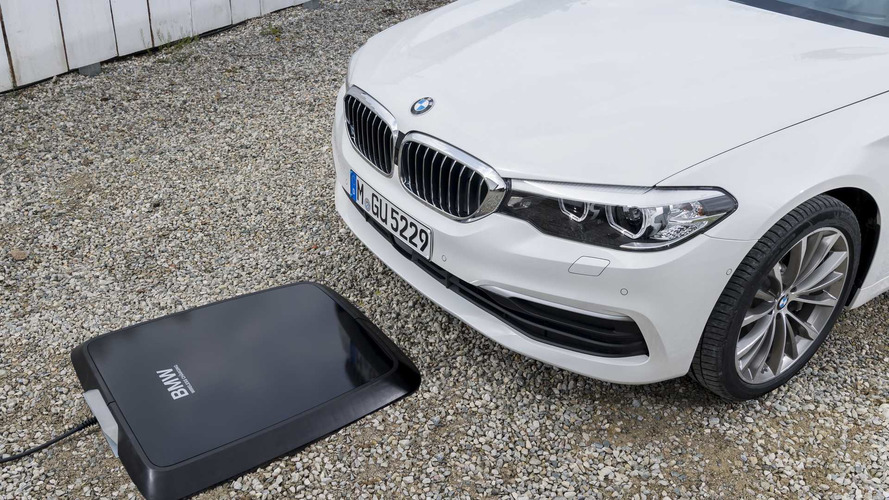 BMW Announces Wireless Charging Option For 530e