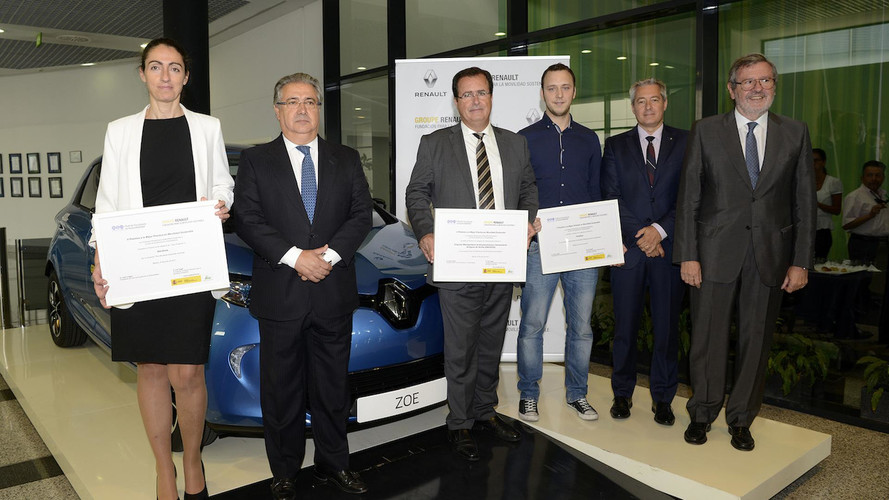 Entrega de premios de Movilidad Sostenible de Renault