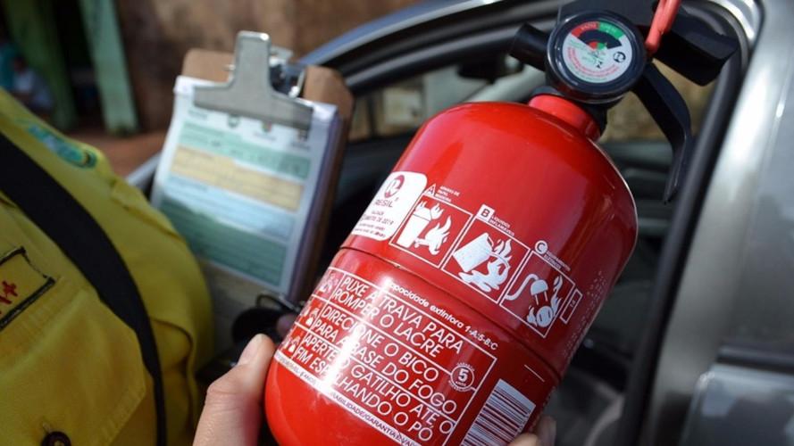 Obrigatoriedade dos extintores pode voltar a valer no Brasil