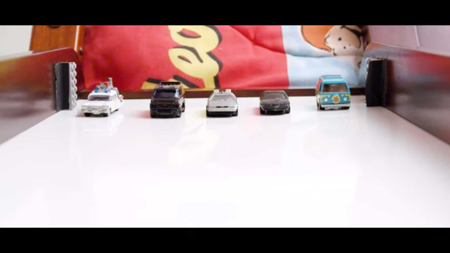 Relive The 1980s With Epic Slow-Mo Hollywood Hot Wheels Race