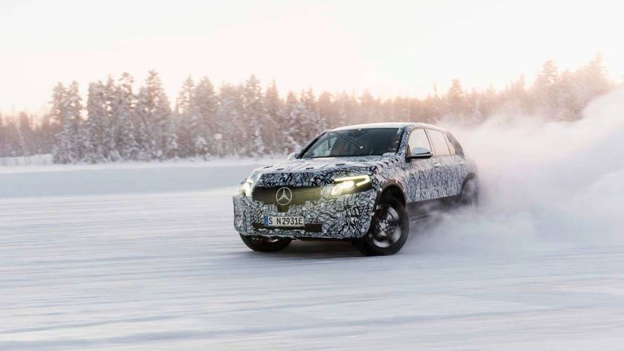Mercedes Releases Image Of EQC Fully Electric Crossover [UPDATE]