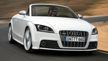 Audi TT S in Full Flight