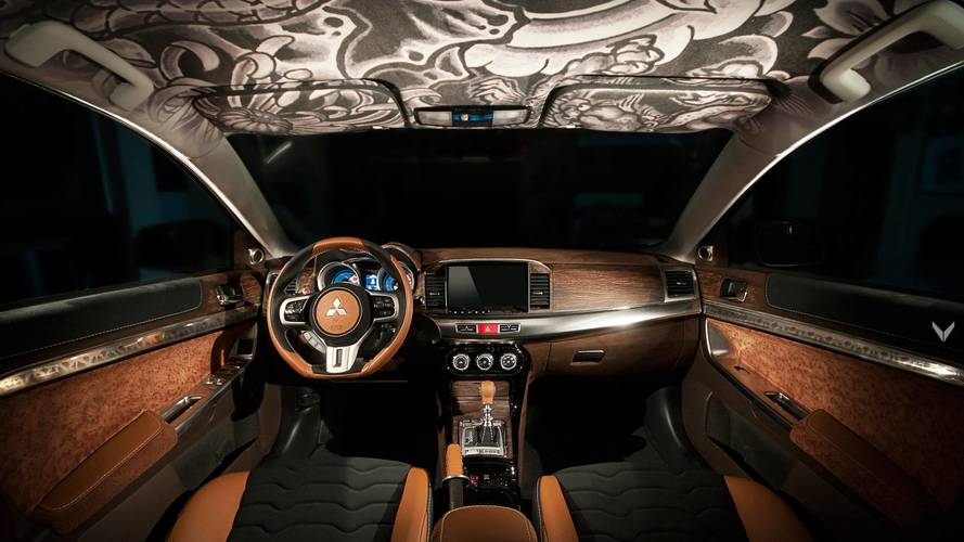Mitsubishi Lancer Ralliart By Vilner Boasts Extravagant Interior
