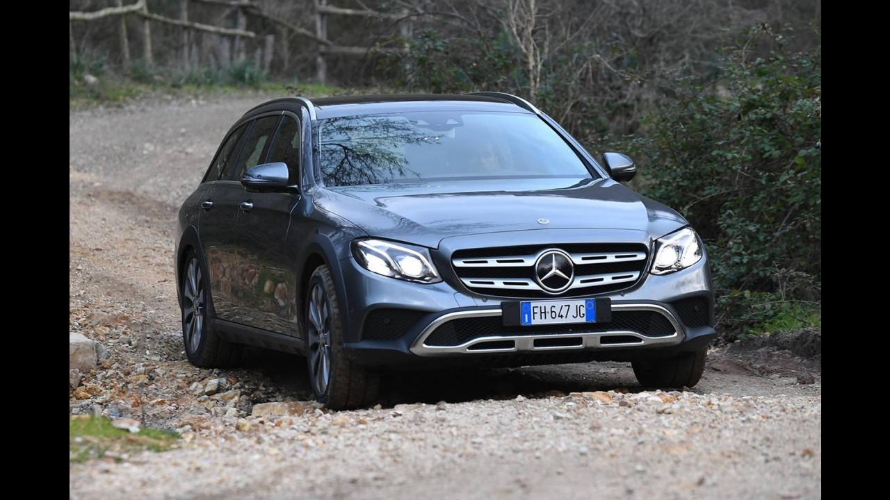 Mercedes E 220d 4Matic All-Terrain, la prova