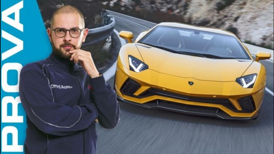 Lamborghini Aventador S, italian twelve [VIDEO]