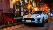 Porsche Macan motorsport fényezések