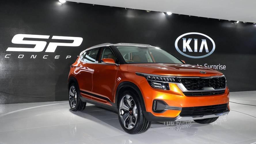 Kia SP Concept, Auto Expo 2018'de tanıtıldı