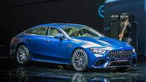 Mercedes-AMG GT 4-Door Coupe at the 2018 Geneva motor show