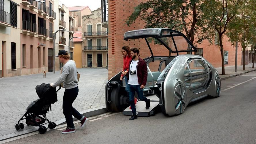 Renault EZ-GO, así será la movilidad del futuro
