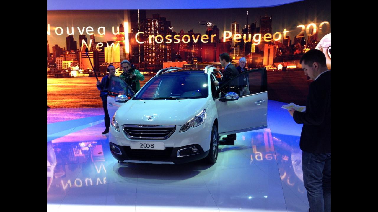 Peugeot 2008 al Salone di Ginevra 2013 - LIVE