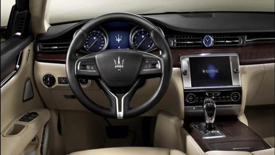 Maserati Quattroporte, Ghibli e Fiat 500L: lavoratori a casa, manca la plastica degli interni