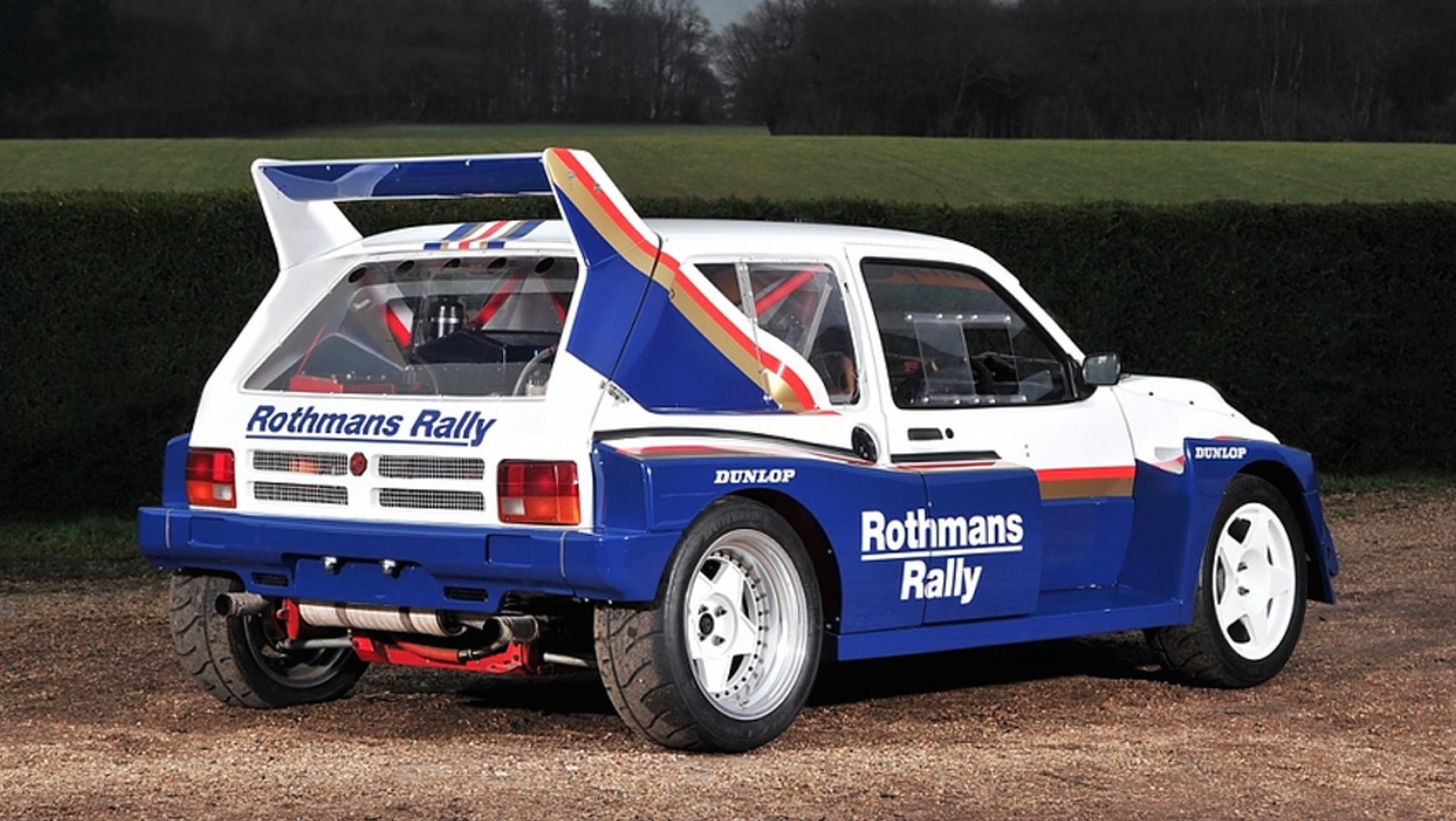 1985 MG Metro Group B rally car needs a new driver