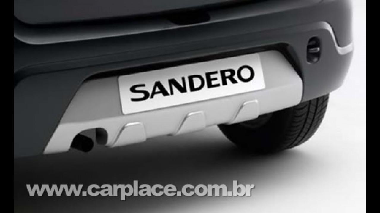 """Dacia oferece Kit Cross para deixar o Sandero com visual """"fora de estrada"""""""