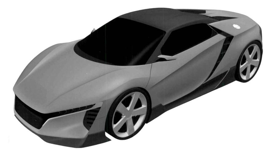 Honda, ZSX ismi için telif hakkı talebinde bulundu, bu küçük NSX olabilir