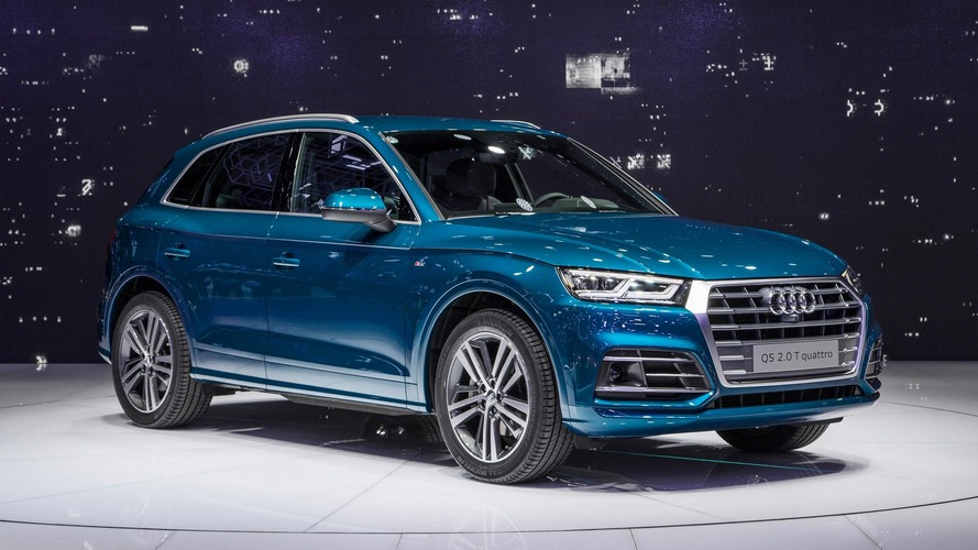 2017 Audi Q5 debuts with evolutionary design