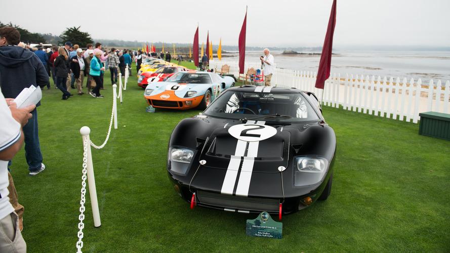 Pebble Beach'de Ford GT40'ın 50'nci yılı kutlandı