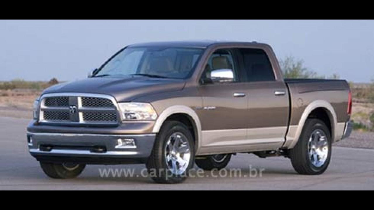 Antes da Hora: Imagem da Nova Dodge RAM 2009 vaza na internet