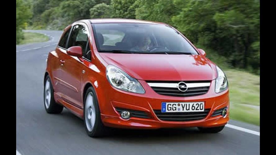 Corsa GSI da Opel será mostrado no Salão de Frankfurt