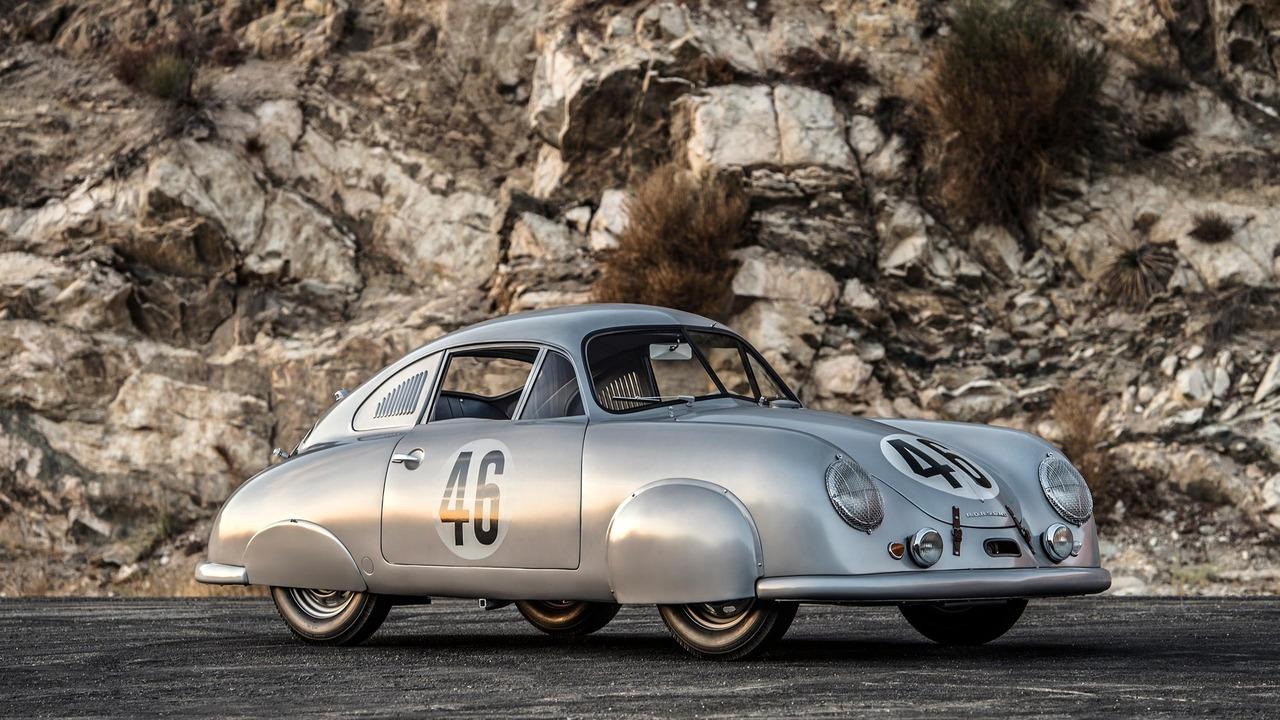Porsche 356 Sl Gmund Coupe Visits Leno Brand S First Le Mans Winner