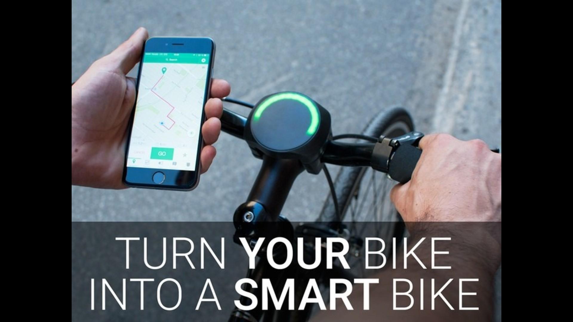 SmartHalo ile her bisiklet 'akıllı' oluyor!