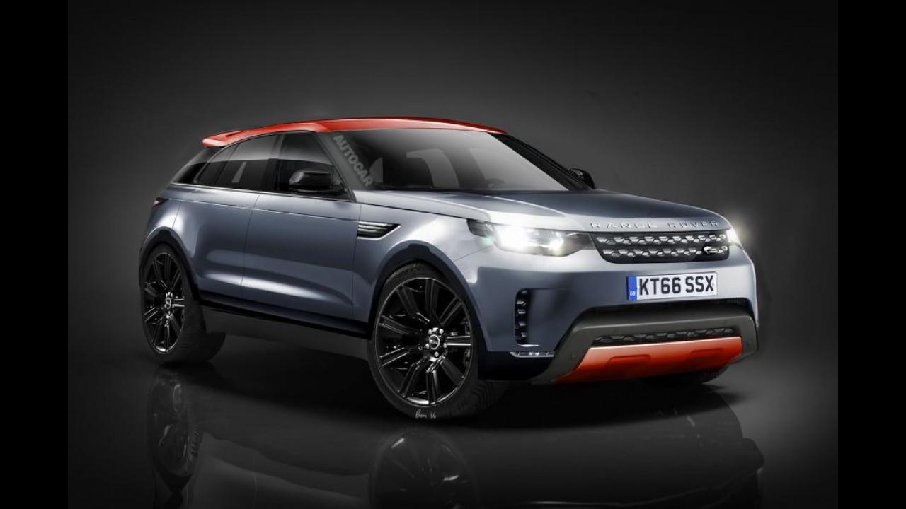 Land Rover 2017'de Coupe-SUV segmentine giriyor