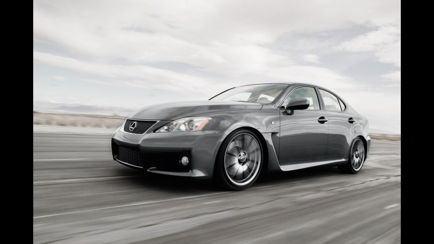 Lanciata in Giappone la Lexus IS F