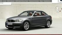 BMW 1-Series Coupé configurator