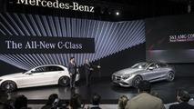 Mercedes S63 AMG Coupe New York'ta, canlı