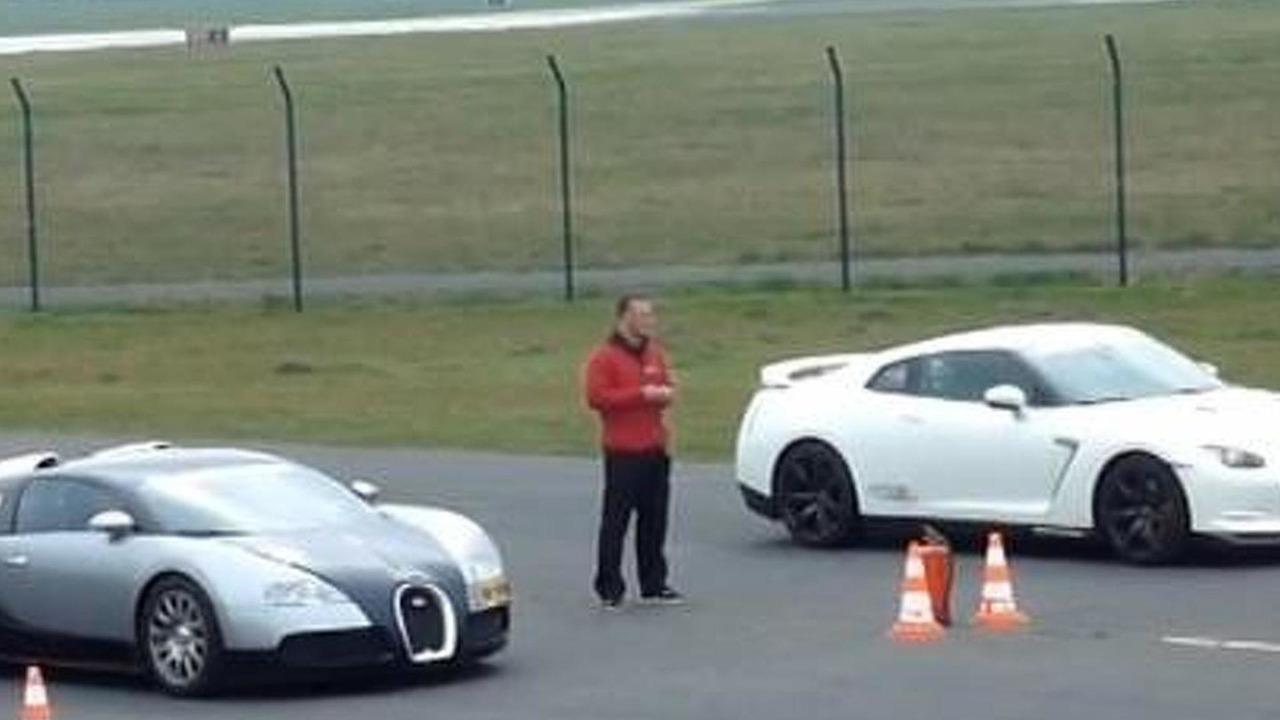 Nissan GT-R Switzer P800 vs. Mansory Bugatti Veyron