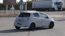 2014 Toyota Yaris Facelift spy photo