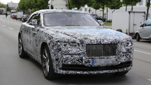 2015 Rolls-Royce Wraith Convertible spy photo