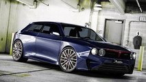 Lancia Delta concept render