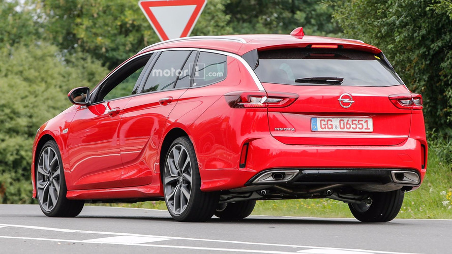 Opel Insignia GSi Sports Tourer 2018, fotos espía