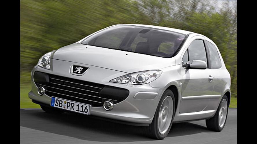 Klein und weich: Sechsgangautomatik für den Peugeot 307