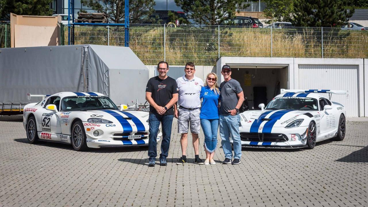 Dodge Viper ACR Nürburgring rekor denemesi