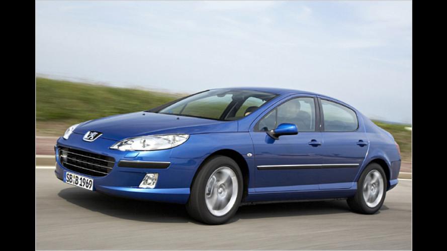 Peugeot 407: SW mit Stahldach, Coupé mit neuem Diesel