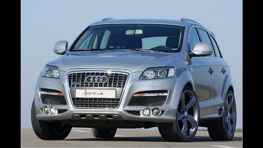 Markantes Q: Design-Konzept von Hofele für den Audi Q7