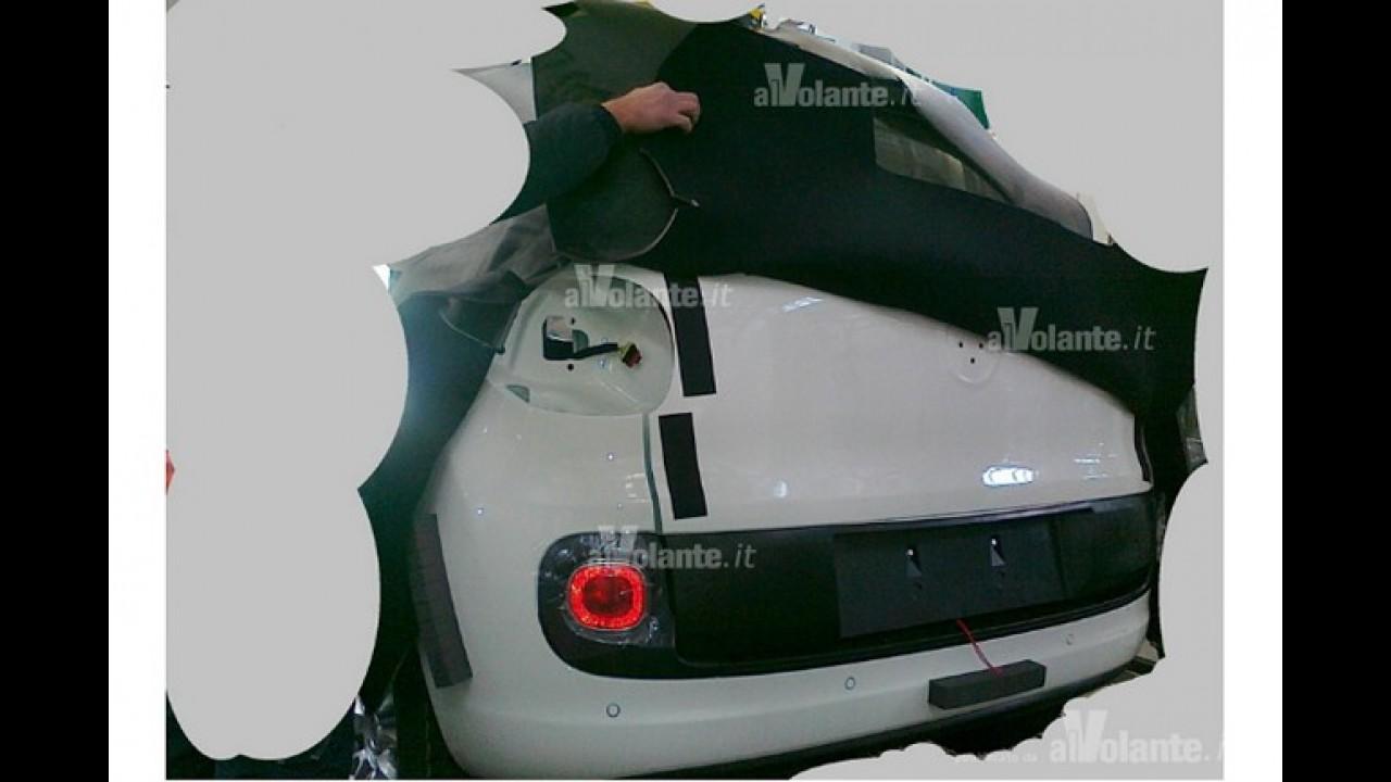 "Novo Idea na Europa: Vazam primeiras imagens da minivan Fiat ""500 Giardinera"""