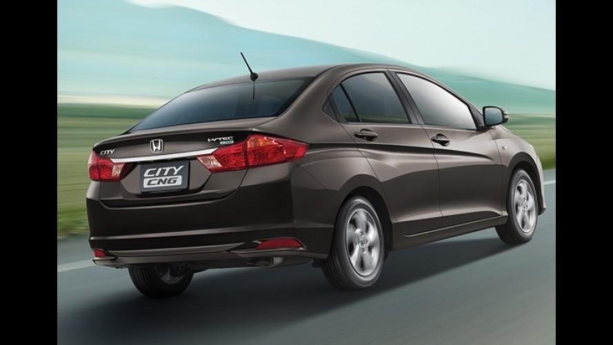 Novo Honda City com GNV de fábrica sai por R$ 43 mil na Tailândia