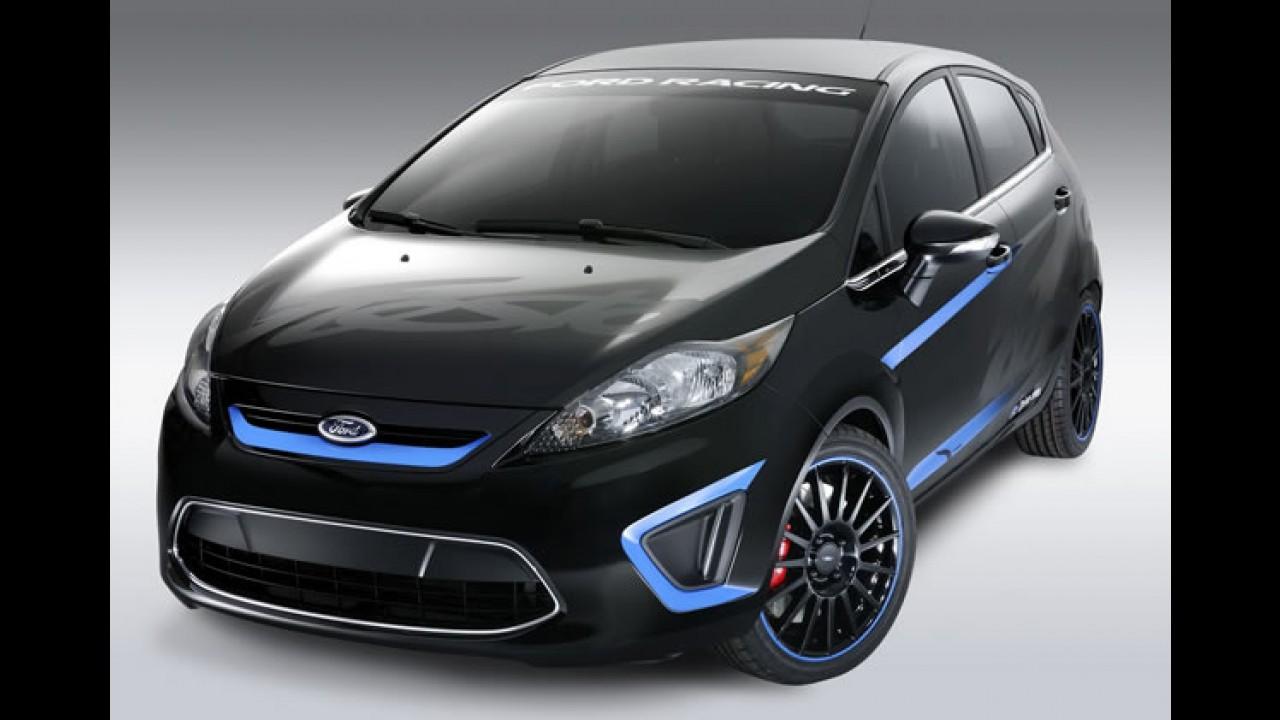 Ford mostra versões tunadas do Novo Fiesta 2011 no Salão de Los Angeles