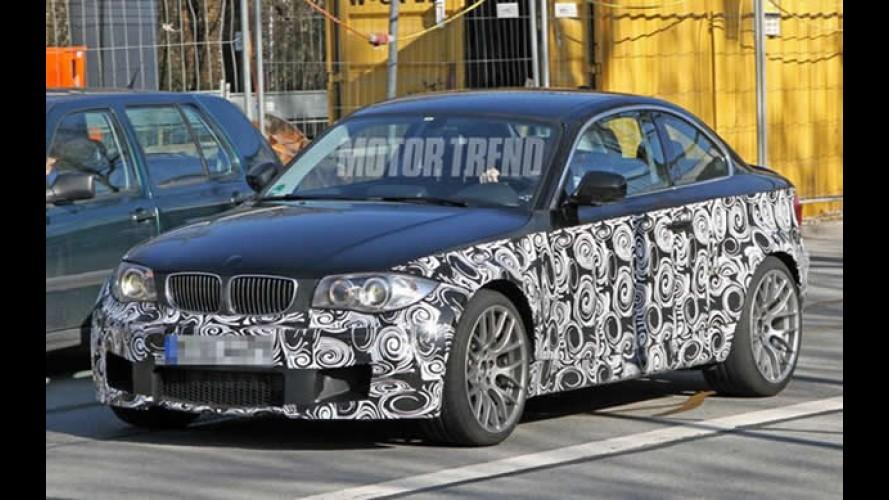 Revista americana flagra futura versão esportiva do BMW Série 1