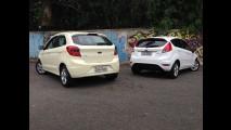 Teste CARPLACE: Ka 1.5 acirra disputa caseira com o Fiesta - qual levar?