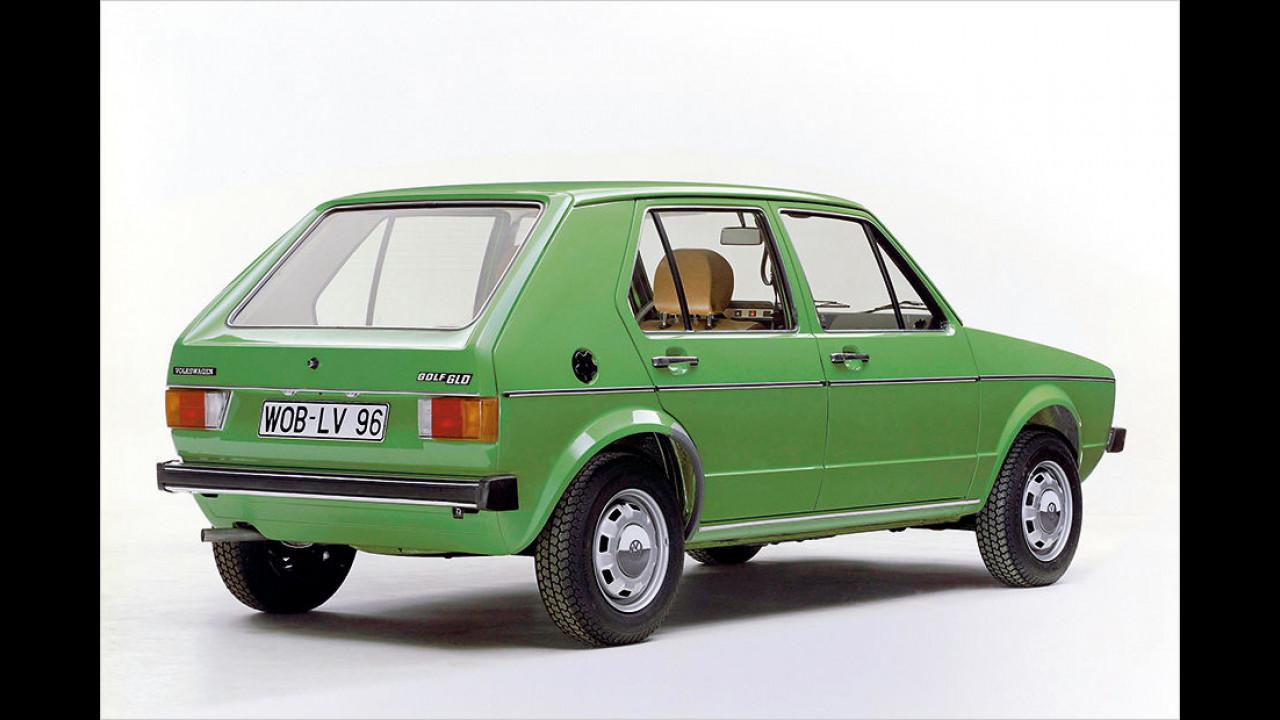 40 Jahre VW Golf I Diesel