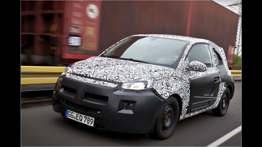Offiziell: Der neue Baby-Opel heißt Adam