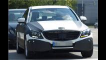 Erwischt: Mercedes C-Klasse