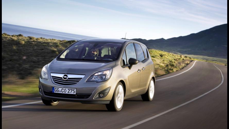 Nuova Opel Meriva 1.3 CDTI ecoFLEX e 1.7 CDTI