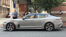Kia Stinger Gets Run Over