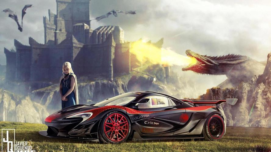 Tudtad, hogy Daenerys Targaryen egy McLaren P1 LM-mel tolja?