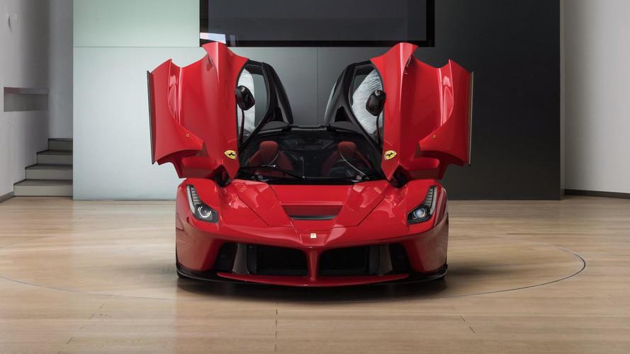 LaFerrari Prototype Sells For $2.25M, But It's Not Street Legal